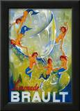 Limonade Brault Vintage Poster - Europe Prints by  Lantern Press