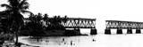Old Bahia Honda Bridge Florida Keys - Bridges Roads Photographic Print by Philippe Hugonnard