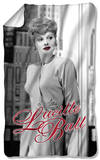 Lucille Ball - City Girl Fleece Blanket Fleece Blanket