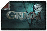 Grimm - Logo Woven Throw Throw Blanket