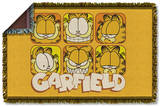 Garfield - Faces Woven Throw Throw Blanket