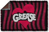 Grease - Groove Woven Throw Throw Blanket
