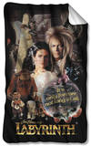Labyrinth - Only Forever Fleece Blanket Fleece Blanket