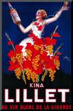 Kina Lillet Vintage Poster - Europe Mounted Print by  Lantern Press