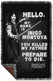 Princess Bride - Hello Again Woven Throw Throw Blanket