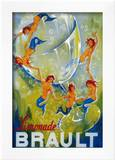 Limonade Brault Vintage Poster - Europe Posters by  Lantern Press