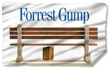Forrest Gump - Bench Fleece Blanket Fleece Blanket