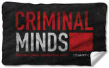 Criminal Minds - Logo Fleece Blanket Fleece Blanket