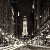 Philadelphia City Photographic Print by Philippe Hugonnard