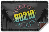 Beverly Hills 90210 - Palms Logo Woven Throw Throw Blanket