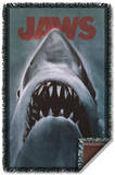 Jaws - Shark Woven Throw Throw Blanket