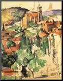 Village of Gardanne, 1885 Mounted Print by Paul Cézanne
