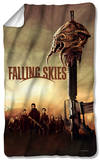 Falling Skies - Skitter Head Fleece Blanket Fleece Blanket