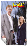 CSI Miami - Blue Sky Fleece Blanket Fleece Blanket