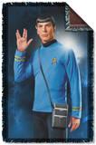 Star Trek - Spock Woven Throw Throw Blanket