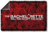 Bachelorette - Roses Woven Throw Throw Blanket