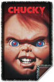Childs Play 3 - Poster Woven Throw Throw Blanket