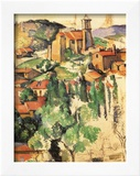 Village of Gardanne, 1885 Framed Giclee Print by Paul Cézanne