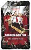 Shaun Of The Dead - Poster Fleece Blanket Fleece Blanket