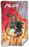 Alien Vs Predator - Brutal Battle Fleece Blanket Fleece Blanket