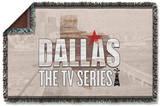 Dallas - Logo Woven Throw Throw Blanket