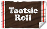 Tootsie Roll - Wrapper Fleece Blanket Fleece Blanket