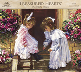 Sandra Kuck - Treasured Hearts - 2016 Calendar Calendars