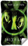 X Files - Trust No One Fleece Blanket Fleece Blanket