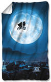 ET - Moon Fleece Blanket Fleece Blanket