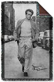 James Dean - Walk Woven Throw Throw Blanket