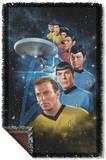 Star Trek - Among The Stars Woven Throw Throw Blanket