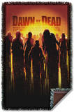 Dawn Of The Dead - Dead Woven Throw Throw Blanket