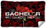 Bachelor - Rose Petals Fleece Blanket Fleece Blanket