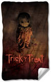 Trick R Treat - Poster Fleece Blanket Fleece Blanket