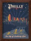 Philly, City of Brotherly Love Posters by  Anderson Design Group