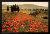 Hills of Tuscany I Posters by Steve Wynne