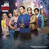 The Big Bang Theory - 2016 Calendar Calendars