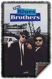 Blues Brothers - Poster Woven Throw Throw Blanket