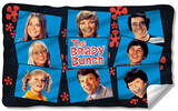 Brady Bunch - Squares Fleece Blanket Fleece Blanket