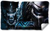 Alien Vs Predator - Poster Fleece Blanket Fleece Blanket