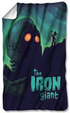 Iron Giant - Look To The Stars Fleece Blanket Fleece Blanket