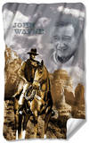 John Wayne - Ride Em Cowboy Fleece Blanket Fleece Blanket