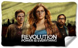 Revolution - Dark City Fleece Blanket Fleece Blanket