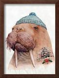 Tattooed Walrus Posters by  Animal Crew