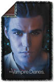 Vampire Diaries - Stefan Eyes Woven Throw Throw Blanket