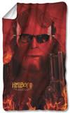 Hellboy II - Big Red Fleece Blanket Fleece Blanket