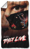 They Live - Poster Fleece Blanket Fleece Blanket