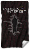Person Of Interest - Numbers Fleece Blanket Fleece Blanket