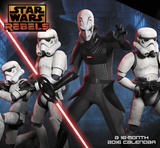 Star Wars Rebels - 2016 Mini Calendar Kalenterit