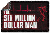 Six Million Dollar Man - Logo Woven Throw Throw Blanket